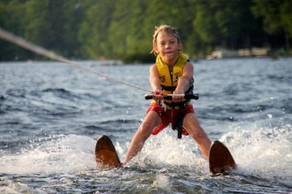 Waterskiing Kid