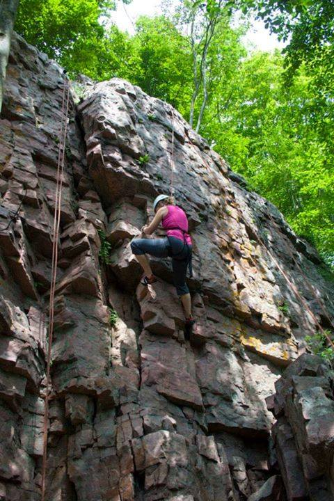 Rock Climbing at Christie2