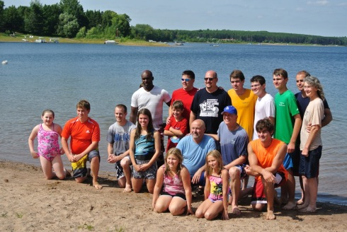 2013 Silver Lake Baptism